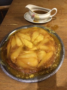 Pear pudding
