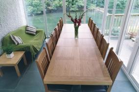 The conservatory table